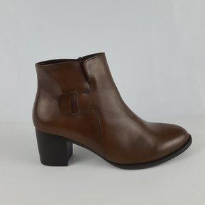 Gabor Women's Ankle Boot Caramel Brown 10 US